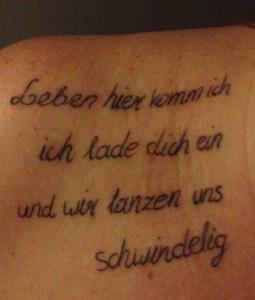 Tattoo - Album Leben #Mhowl